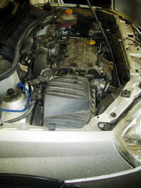 4-Motorreinigung vorher